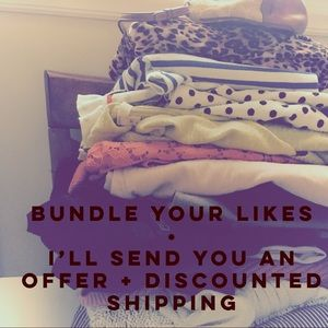 Bundle and SAVE! Or just make an offer!!!